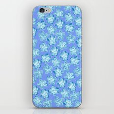 Wallflower - Colony Blue iPhone & iPod Skin