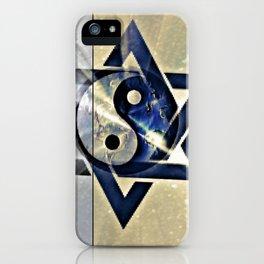 Jewish Yin Yang iPhone Case