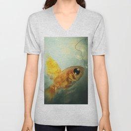 CallFish Unisex V-Neck