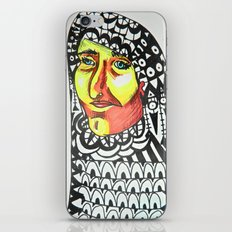 The Snake Charmer iPhone & iPod Skin