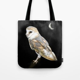 The Owl and the Moon Tote Bag
