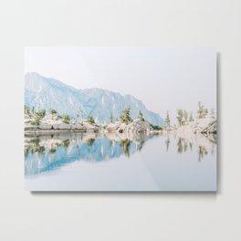 Lone Pine Lake Metal Print