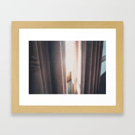 Behind Framed Art Print