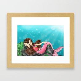 Monster Falls: Mabel Framed Art Print