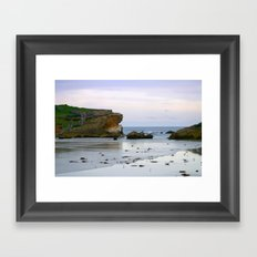 Middle Island Framed Art Print