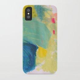 Life in Aqua iPhone Case