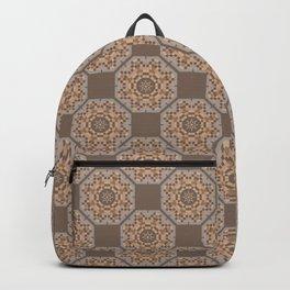 Beach Tiled Pattern Backpack