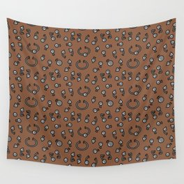 Piercing alternative body jewellery pattern Wall Tapestry