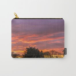 Sunset Over The Park Carry-All Pouch