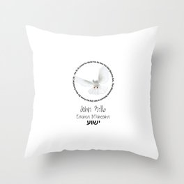 Bible: John 3:16 Throw Pillow