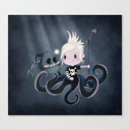 Monsters Love Canvas Print