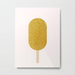 Illustrated popsicle VIII Metal Print