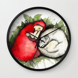 Litte Red Riding Hood Wall Clock