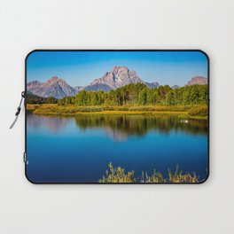 Oxbow Bend - Mt Moran in the Grand Tetons Laptop Sleeve