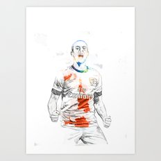 Theo Art Print
