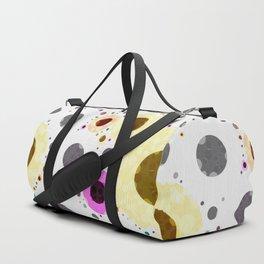 Modern Soft palette Dot Pattern Duffle Bag