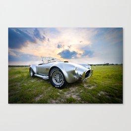 Sky's the Limit - Classic 1965 Shelby Cobra  Canvas Print