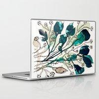 emerald Laptop & iPad Skins featuring Emerald by Tonya Doughty