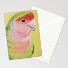 Peach-faced Lovebird Stationery Cards