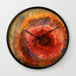 Colour Burst Wall Clock