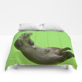 Green Otter Comforters