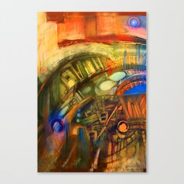 Zero Point Field V Canvas Print