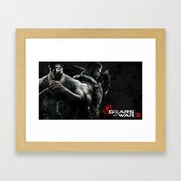 Gears Of War 14 Framed Art Print