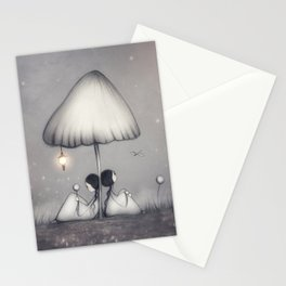Little Talks At Twilight Stationery Cards