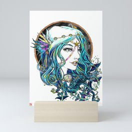 Sailor Aluminium Siren - Sailor Moon Fanart Mini Art Print