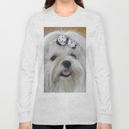 shitzu dog Long Sleeve T-shirt
