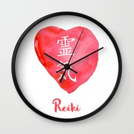 Sacred geometry. Reiki symbol. The word Reiki is made up of two Japanese words, Rei means 'Universal Wall Clock
