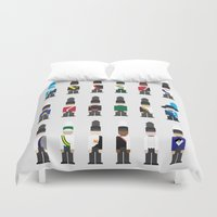 band Duvet Covers featuring Marching Band  by Kat Reiser
