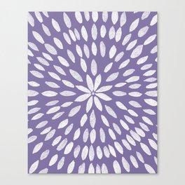 Mandala Flower #4 #UltraViolet #drawing #decor #art #society6 Canvas Print