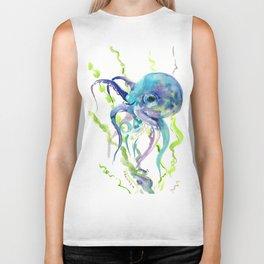 Underwater Scene Design, Octopus Biker Tank