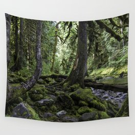 Green of the Forest Wall Tapestry