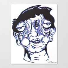 Please Place 3-D Glasses over your vision balls  Canvas Print