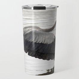 Great Blue Heron | Painting | Wildlife | Art Travel Mug