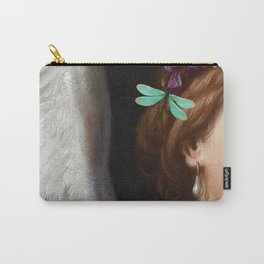 Angel With A Pearl Earring Carry-All Pouch