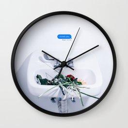 i loved you - LANY Wall Clock