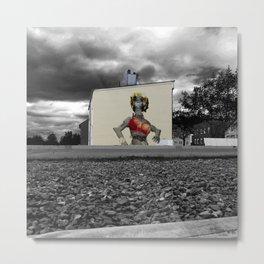 StreetArt Invasion 6 - Marilyn Metal Print