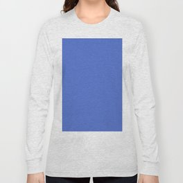 Royal Blue Saturated Pixel Dust Long Sleeve T-shirt