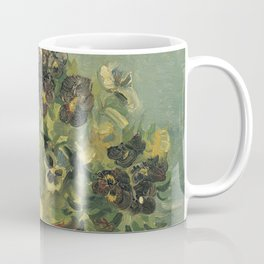 Basket of Pansies by Vincent van Gogh Coffee Mug