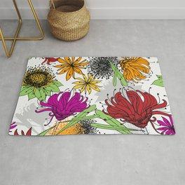 Aussie Floral - by Kara Peters Rug