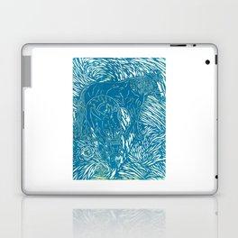 Abstract Buford Charging Laptop & iPad Skin