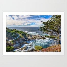 Pacific Ocean photography  Art Print