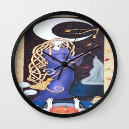 Divining Crone Wall Clock