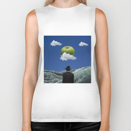 Apple Magritte Biker Tank