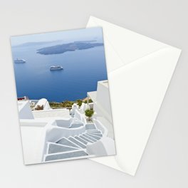 The Perfect Santorini Life Stationery Cards