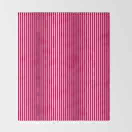 2  Red, crimson, striped Throw Blanket