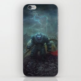 The Black Knight Prevails! iPhone Skin
